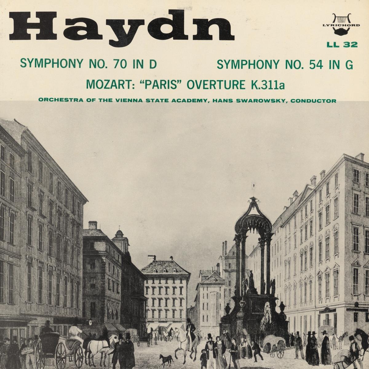 Recto de la pochette du disque Lyrichord LL 32
