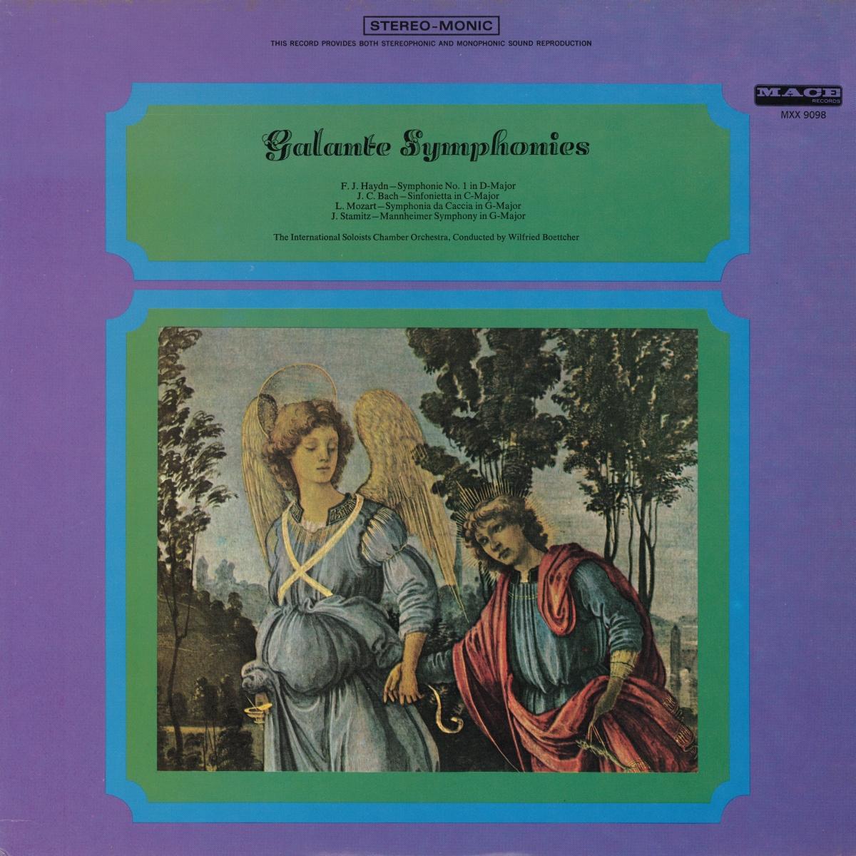 Recto de la pochette du disque MACE 9098