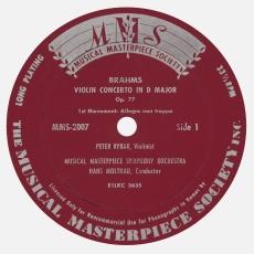 Étiquette recto du disque MMS 2007