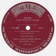 Étiquette verso du disque MMS 2007