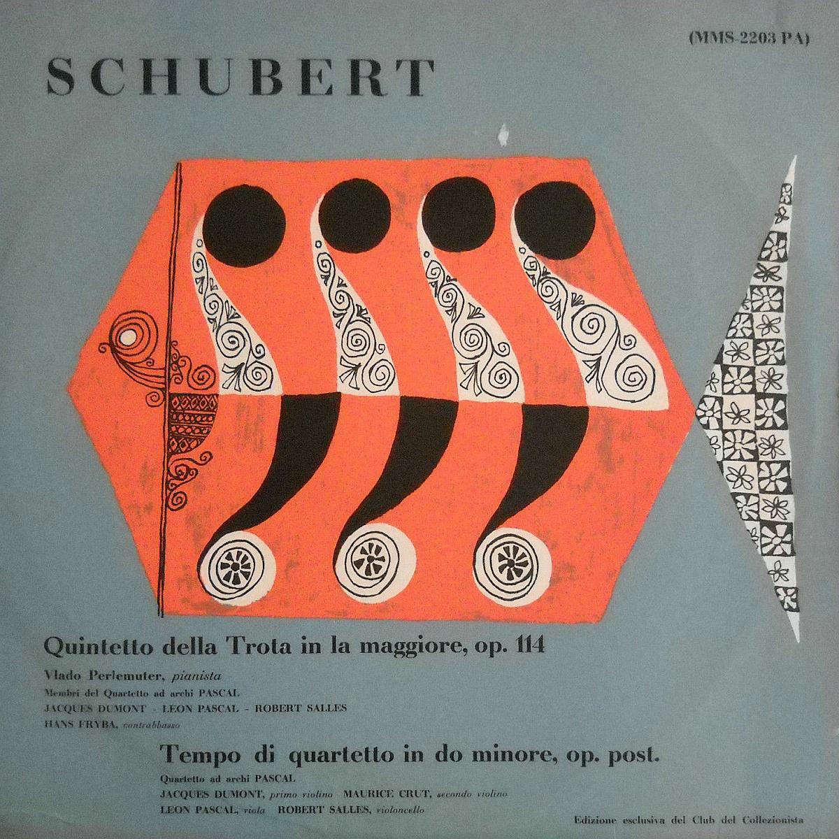 Recto de la pochette du disque MMS-2003 de l'Edizione exclusiva del Club der Collezionista, Cliquer sur la photo pour une vue agrandie et quelques infos