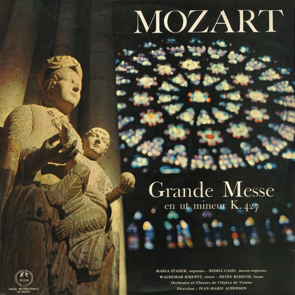 Recto de la pochette du disque Musical Masterpiece Society MMS 2376