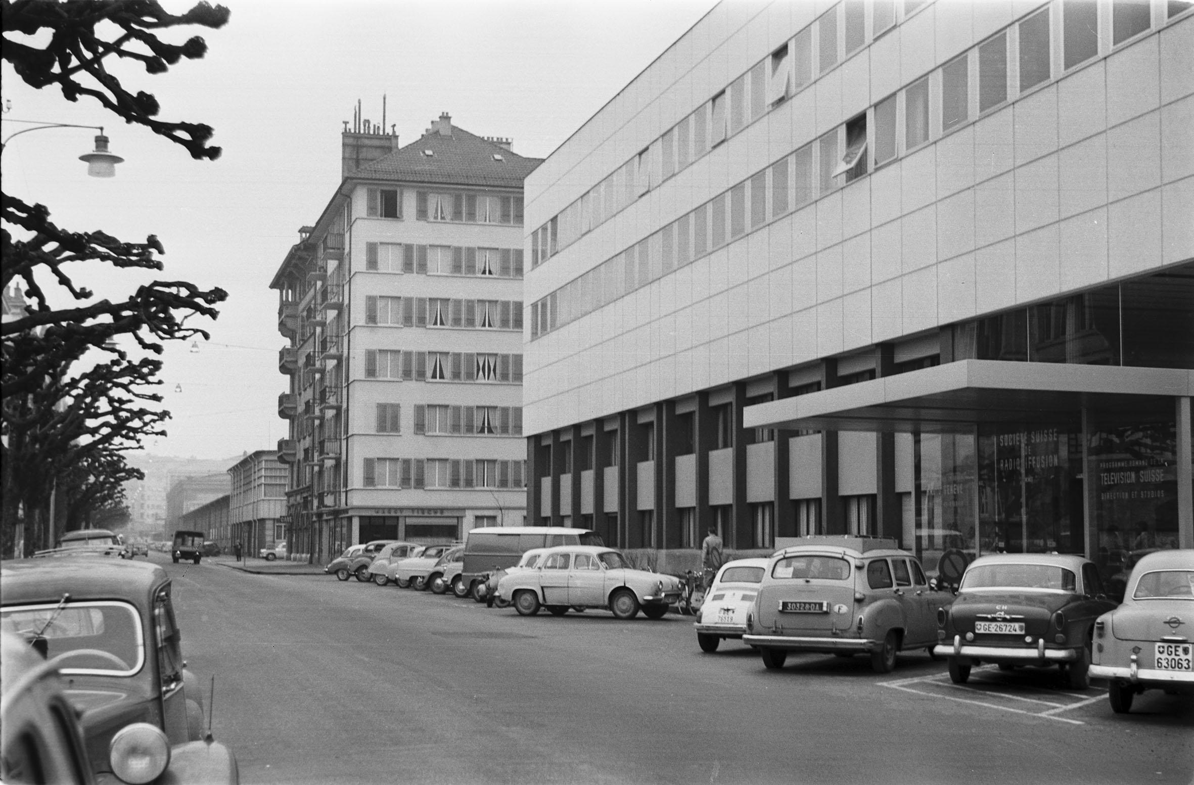 RSR, Maison de la Radio, Boulevard Carl-Vogt, Genève
