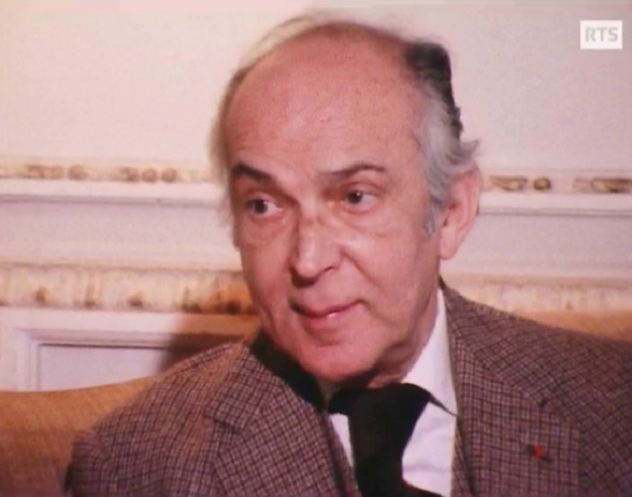 Igor MARKEVITCH sur son livre «Être et avoir été», Radio Télévision Suisse Romande «Visiteurs du soir», diffusé le 4 mai 1981