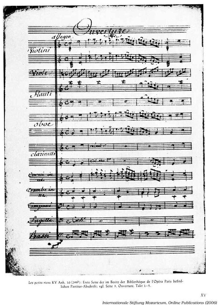 Première page manuscript, cliquer pour voir l'original et ses références