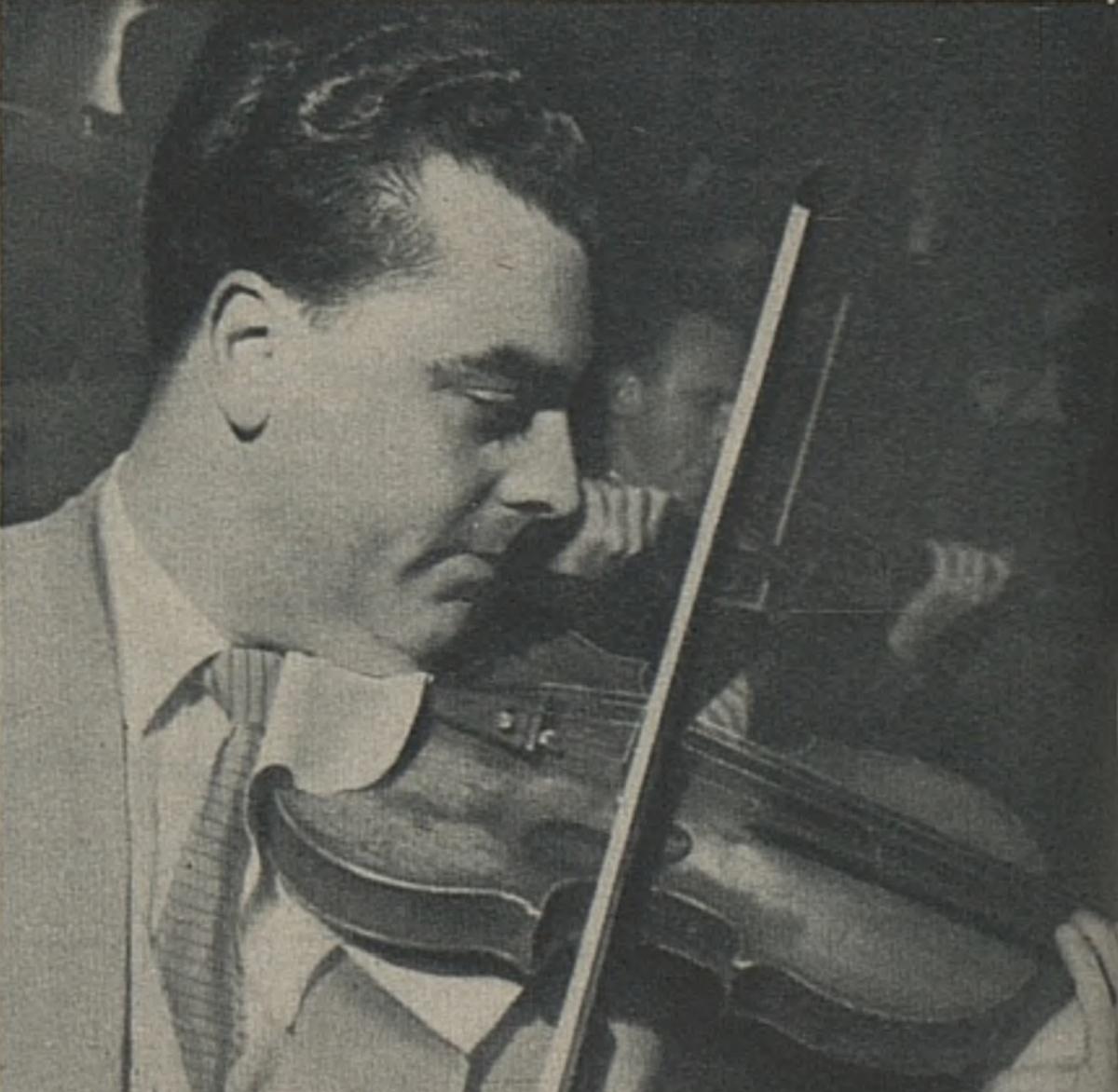 Guido MOZZATO, un portrait fait par Photo Bertrand, publié dans L'Illustré du 26 octobre 1950, No 43, page 8, cliquer pour une vue agrandie