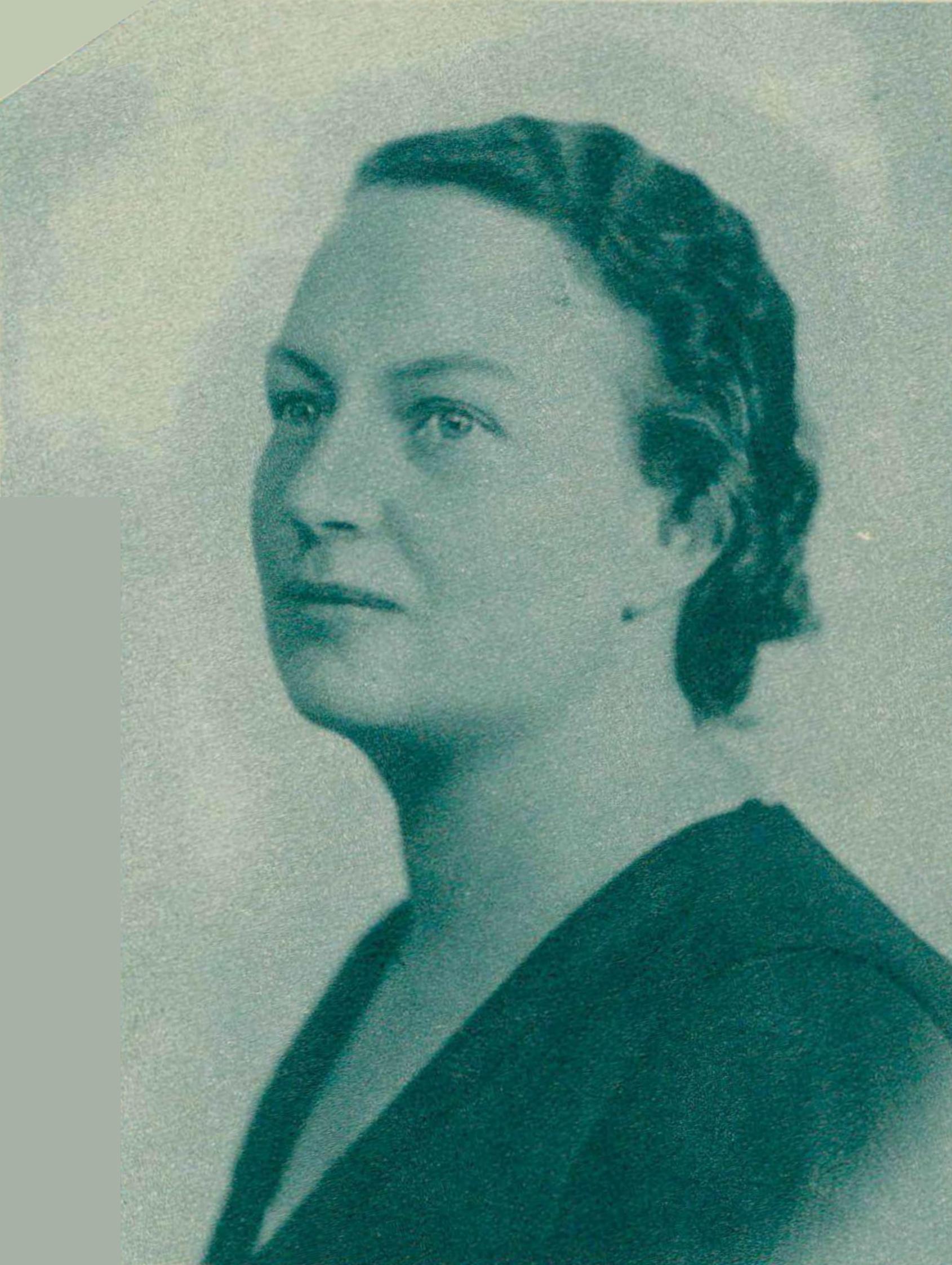 Isabelle NEF, un portrait fait par Photo Hélios et publié dans la revue Le Radio du 21 août 1936 en page 1520, cliquer pour une vue agrandie