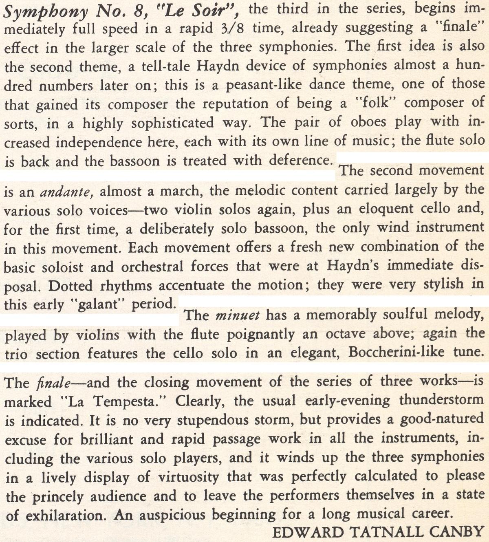Extrait du texte de Edward Tatnall Canby publié au verso de la pochette du disque Nonesuch H 71015