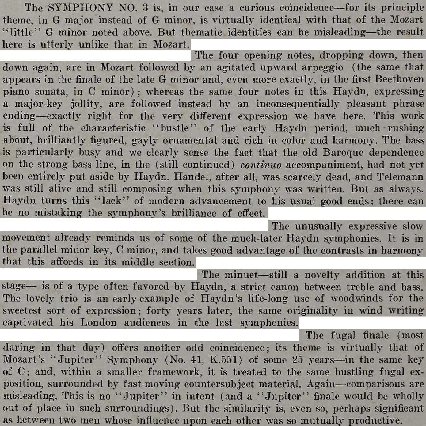 Extrait des notes de Edward Tatnal CANBY publiées au verso de la pochette du disque Nonesuch H 1096
