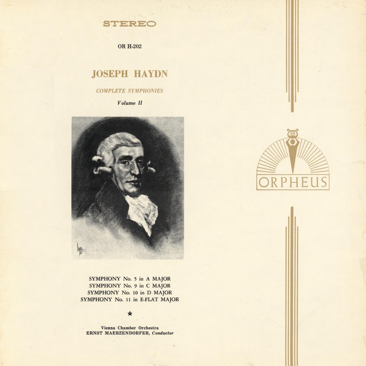 Recto de la pochette du disque MHS Orpheus OR H-202