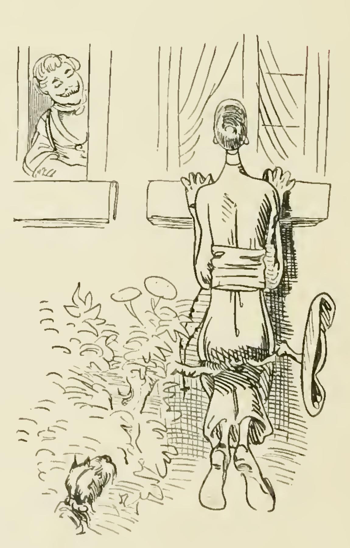 Dessin de Wilhelm Busch extrait de Pater Filicius