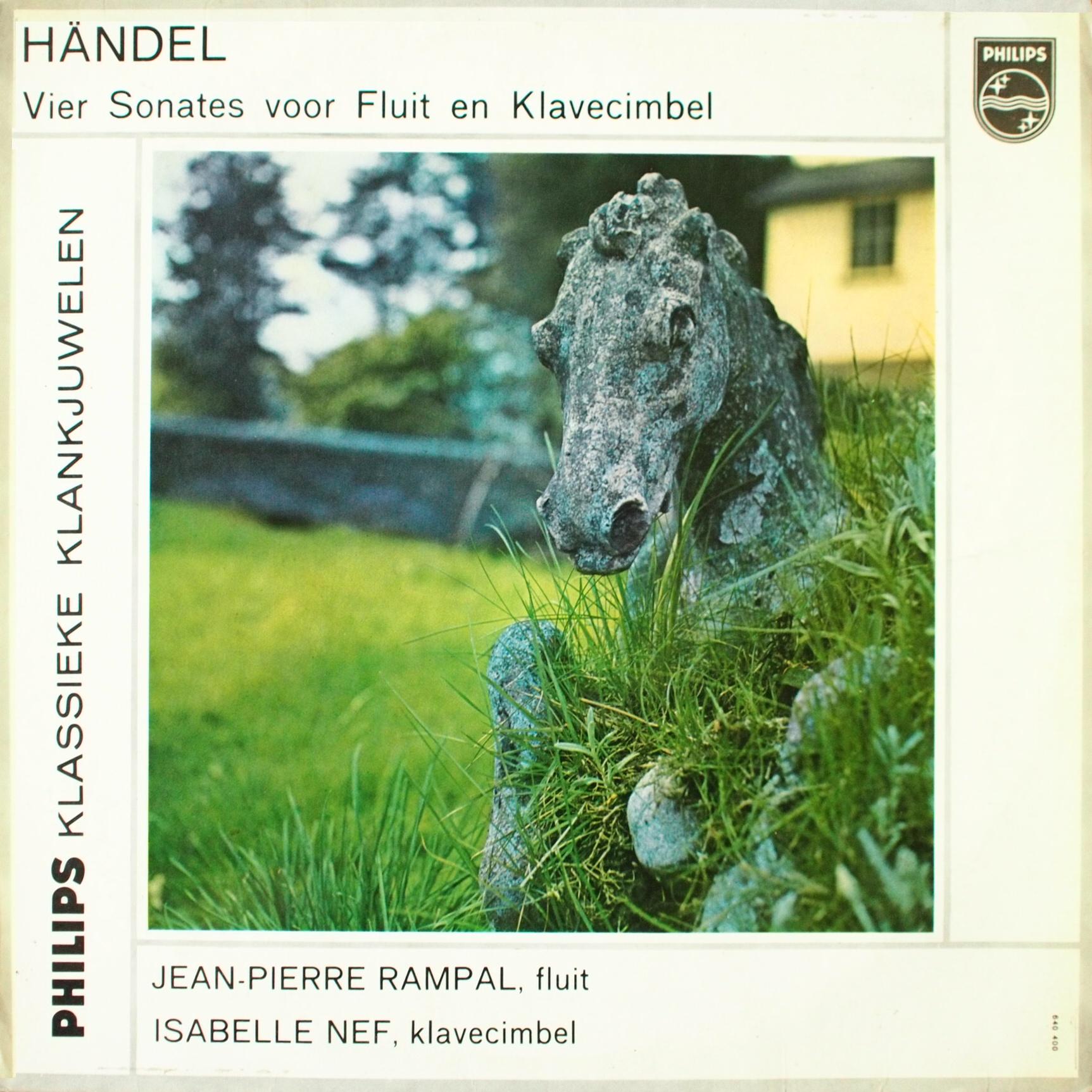 Recto de la pochette du disque Philips 640 400 GL
