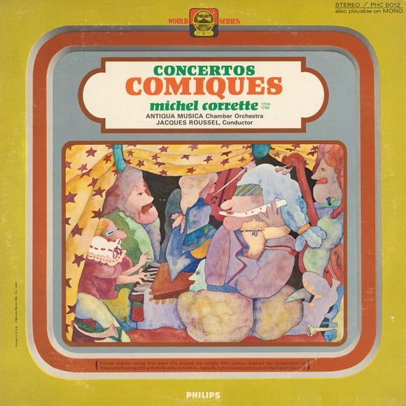 Recto de la pochette du disque Philips PHC 9012
