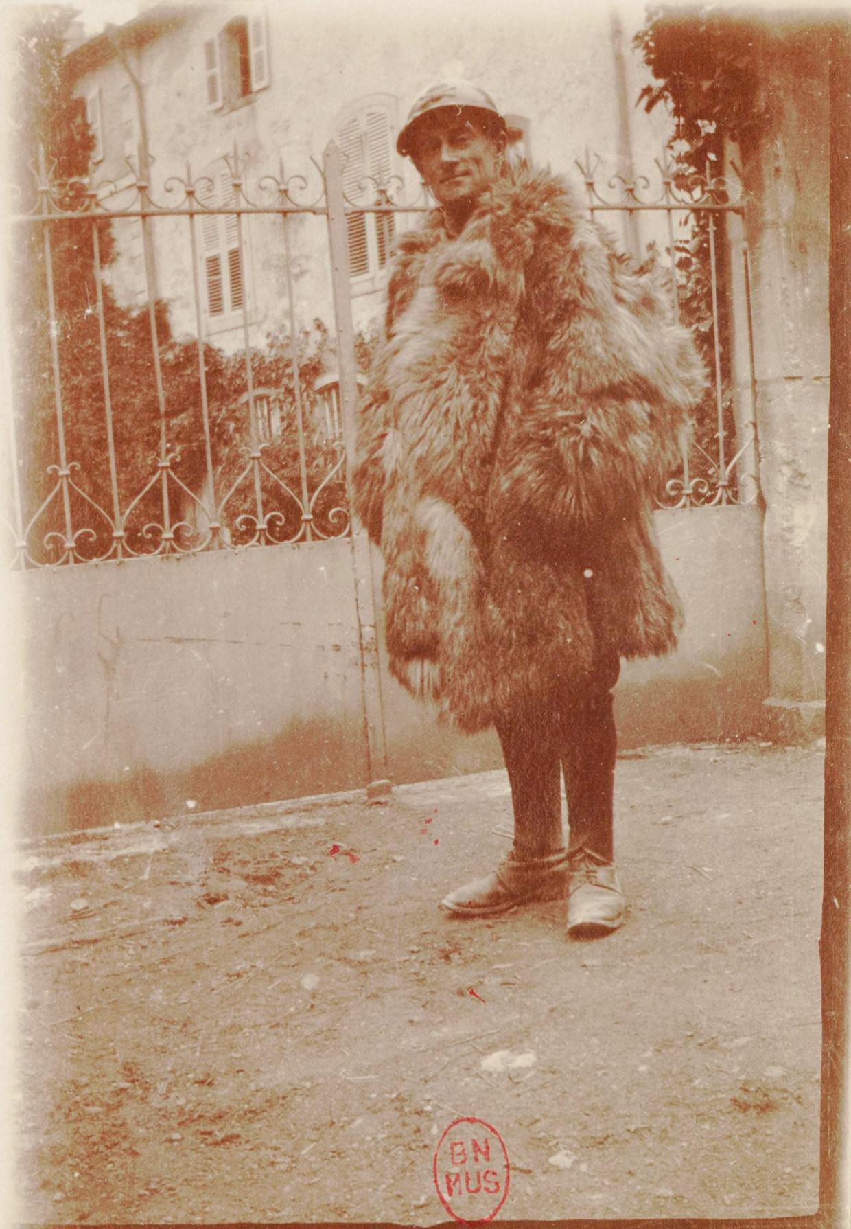 Maurice RAVEL en soldat, 1916, Cliquer sur la photo pour une vue agrandie et quelques infos