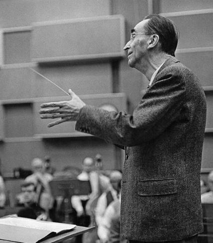 Hans ROSBAUD photographié en 1961 par Erich Auerbach, Cliquer sur la photo pour une vue agrandie et quelques infos