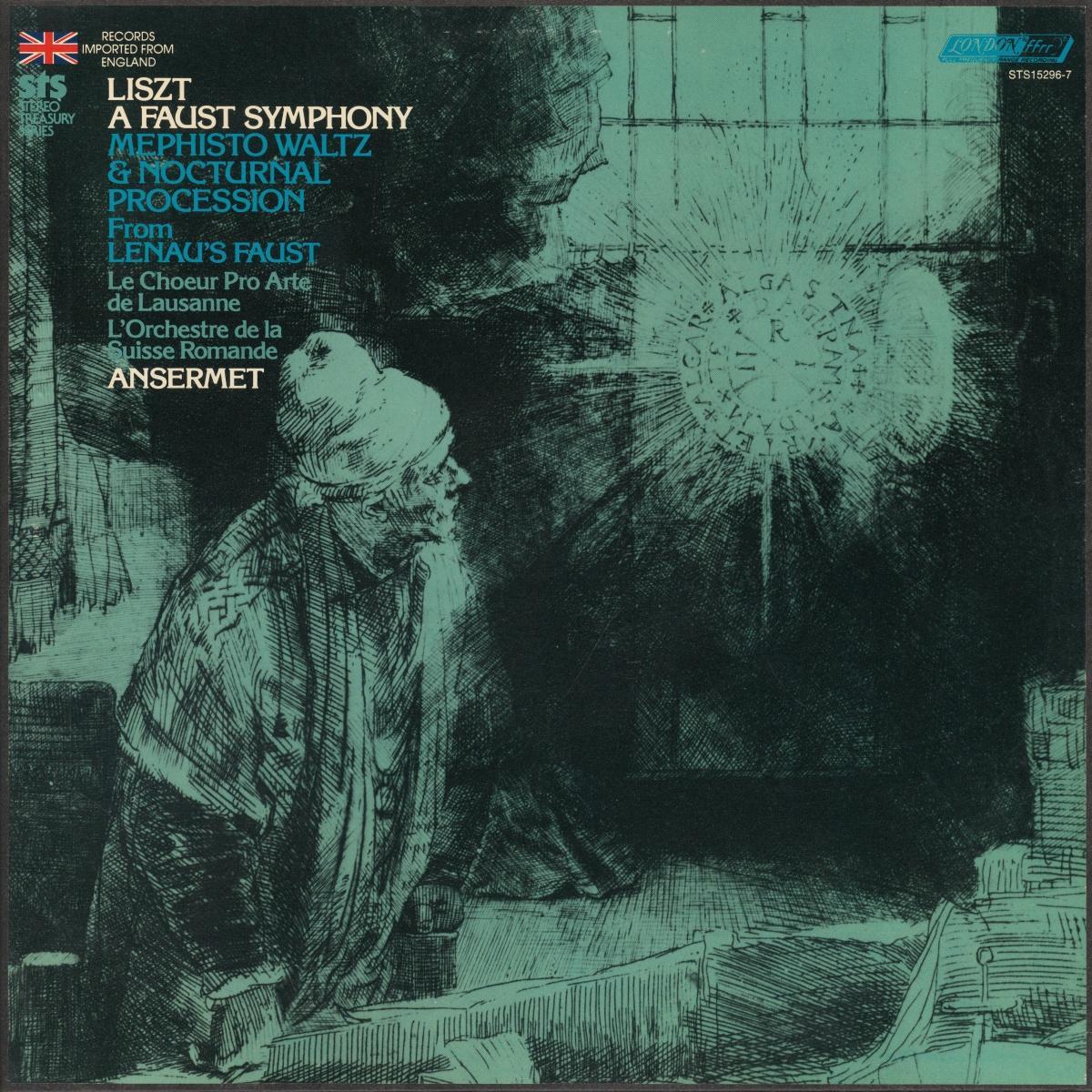 Recto du coffret de deux disques Decca STS 15296