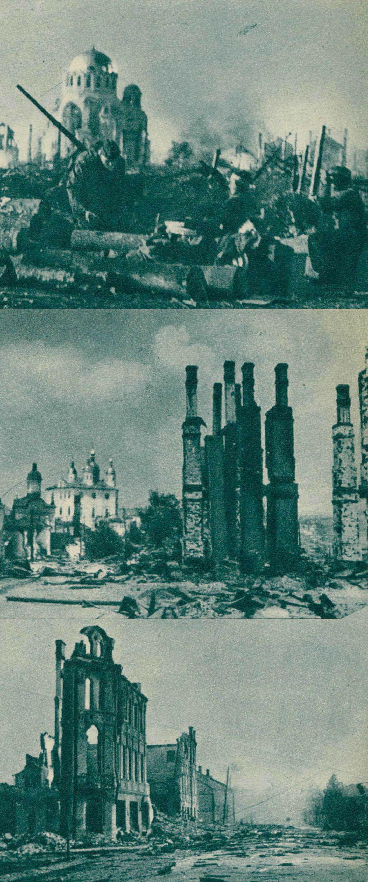 Ruines de LENINGRAD, Cliquer sur la photo pour une vue agrandie et quelques infos