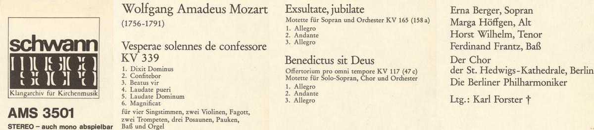 montage d'extraits du verso de la pochette du disque Schwann AMS 3501