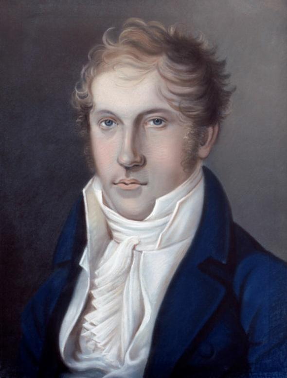 Autoportrait de Louis Spohr devant dater de 1805, cliquer pour plus d'infos