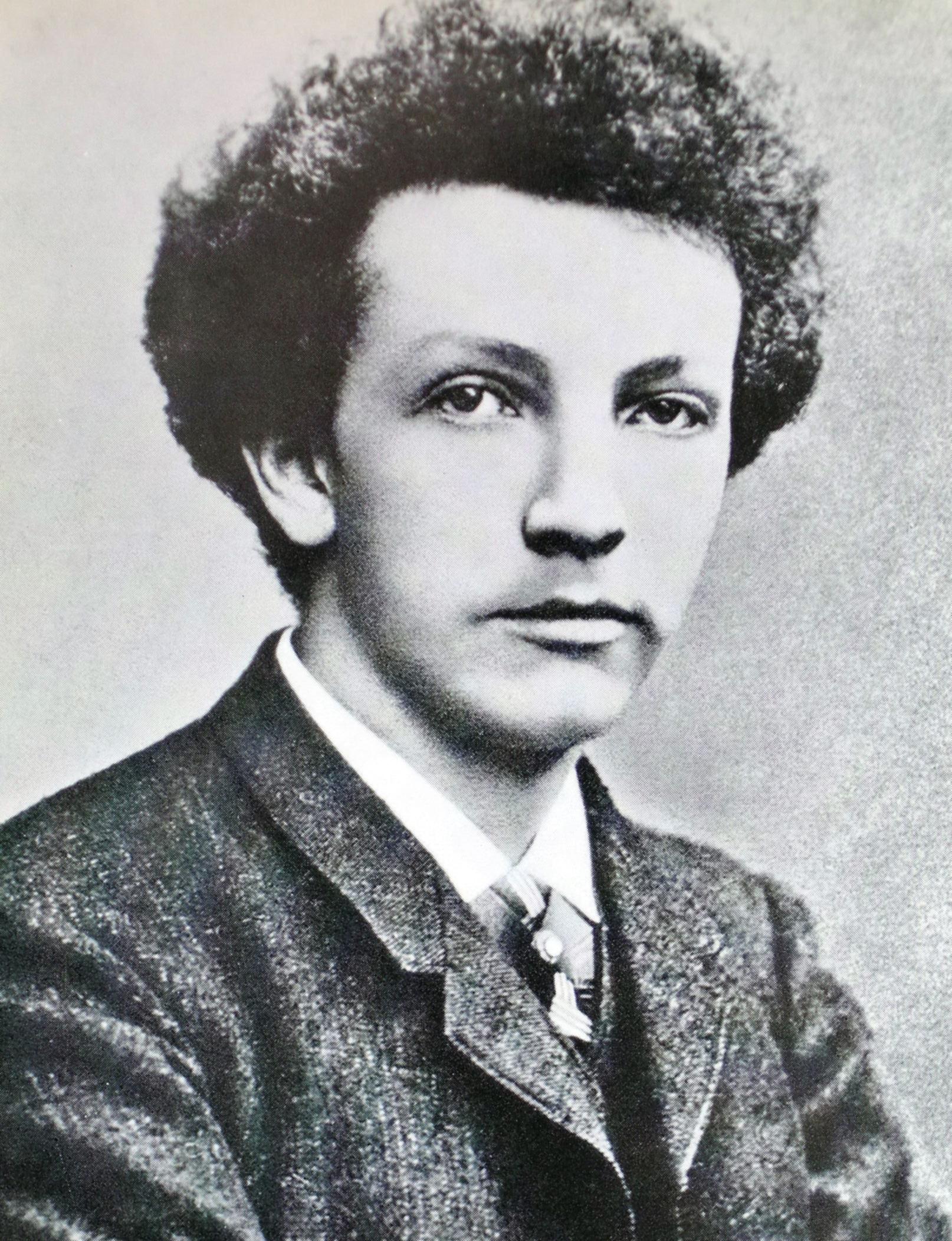 Le jeune Richard STRAUSS en 1888, cliquer pour une vue agrandie