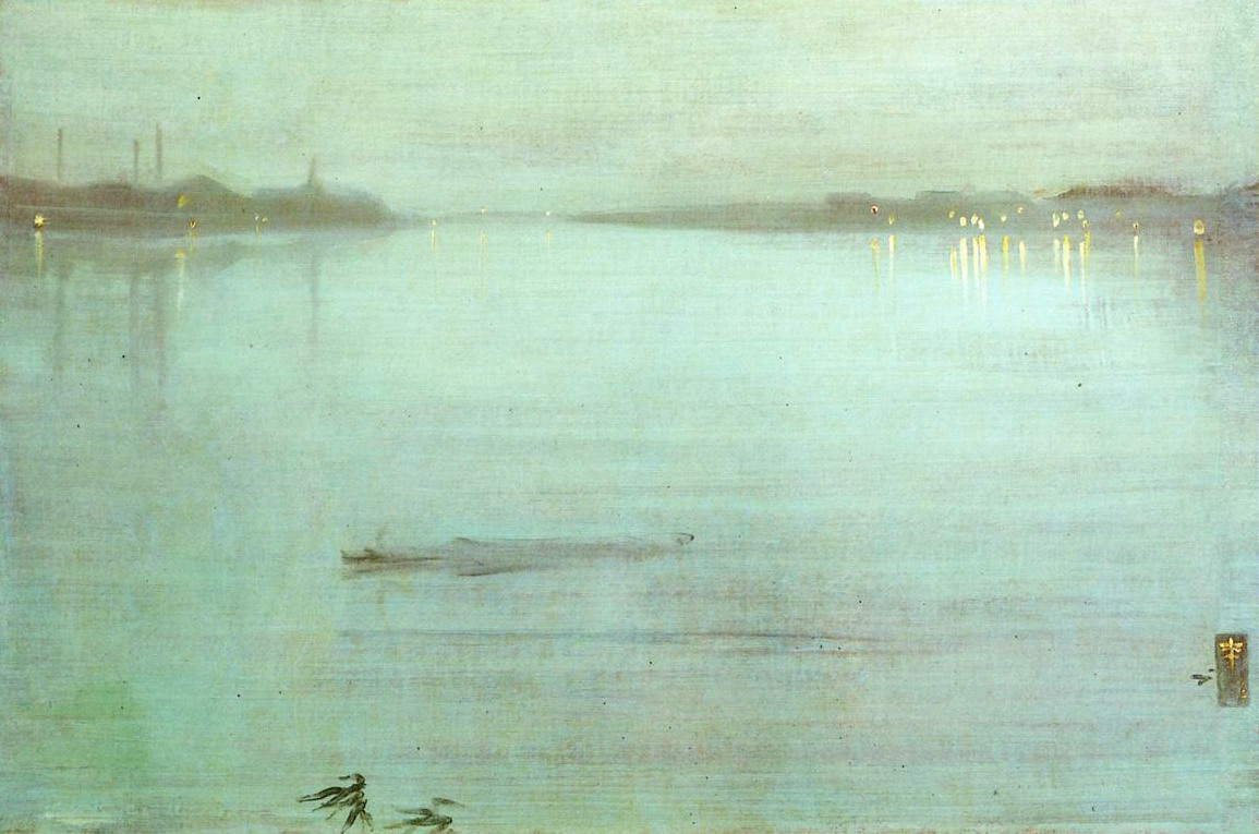 Nocturne, Blue and Silver: Chelsea, de James McNeill Whistler
