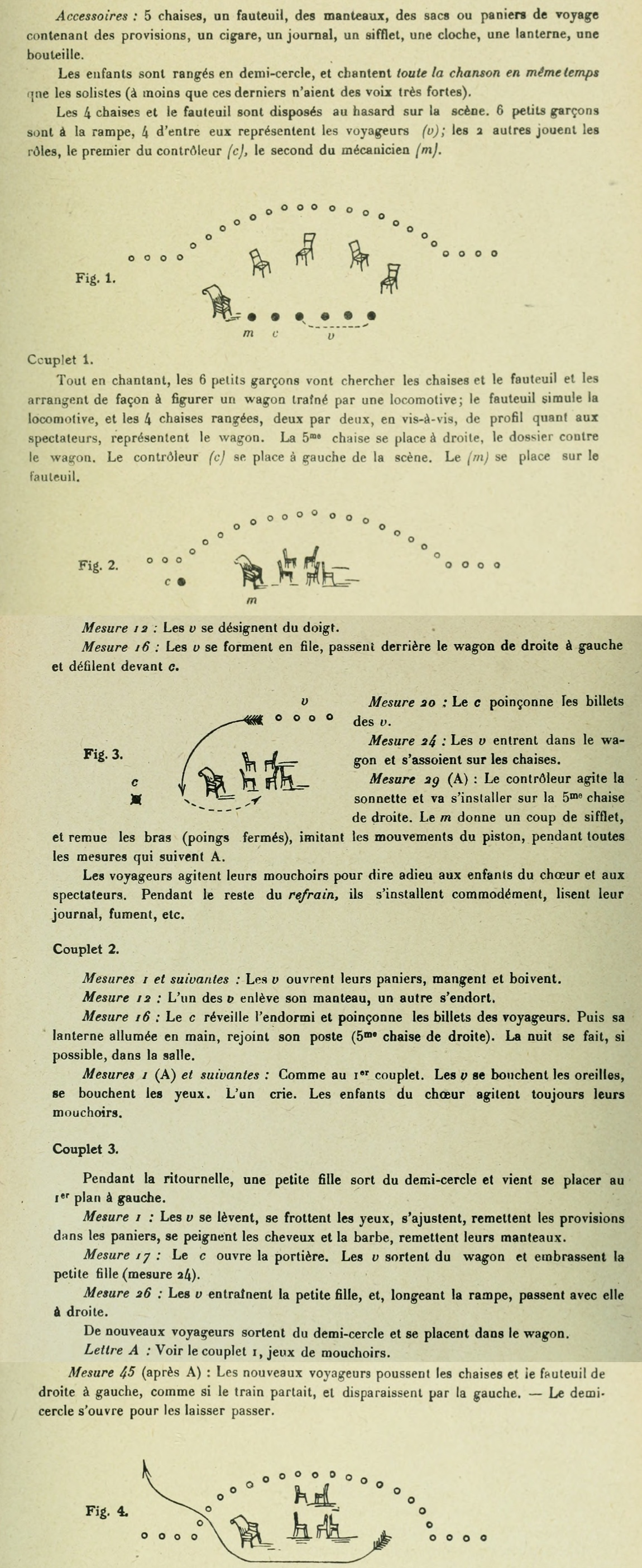 Extrait 4 de la partition publiée dans le recueil «<i>Chansons d'Enfants</i>», Op. 42