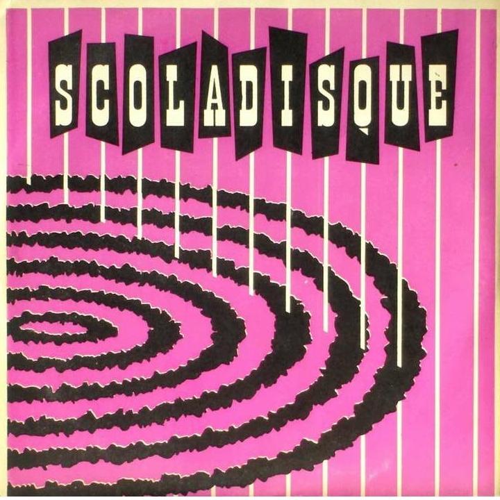 Recto d'une pochette de disque Scoladisque