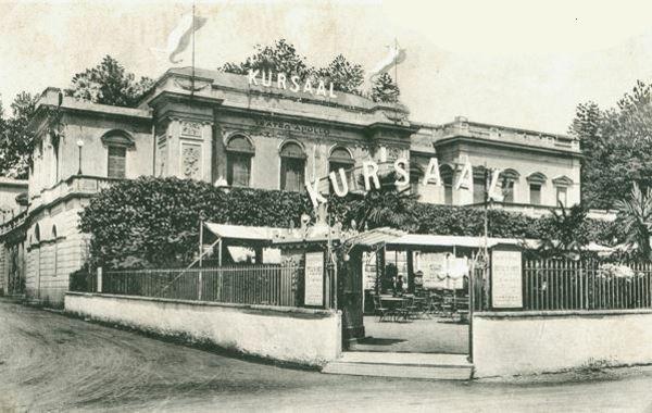 Le «Teatro Kursaal Apollo» de Lugano, date et photographe inconnus